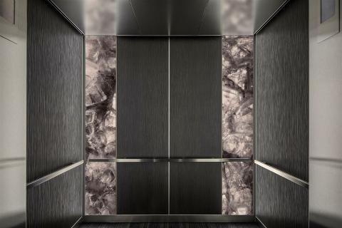 Elevator Interior - Dusky Amethyst